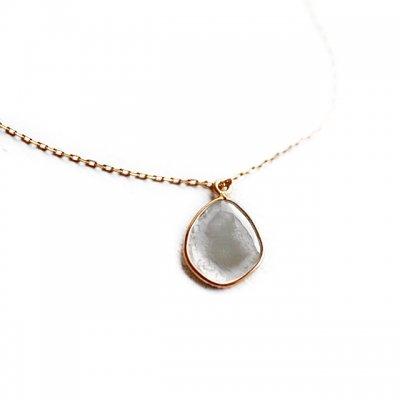 Slice Diamond  necklace K18