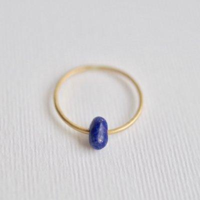 ラピスラズリ リング Moving Ring Lapis Lazuli