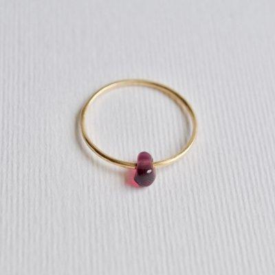 ガーネット リング  Moving Ring Garnet