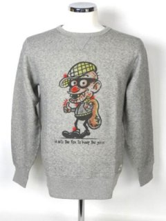 THIEF AIR-BRUSH SWEAT SHIRTS[ポスター付き]