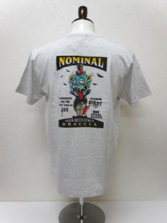 [RMODELS×NOMINAL/別注.限定]I.D DRACULA AIR-BRUSH T-SHIRTS