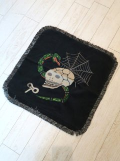 SKULL & SNAKE - CUSHION COVER