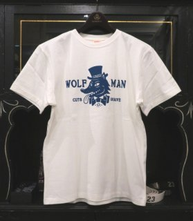 <img class='new_mark_img1' src='//img.shop-pro.jp/img/new/icons14.gif' style='border:none;display:inline;margin:0px;padding:0px;width:auto;' />[GLAD HAND x WOLFMAN] WOLFMAN LOGO - S/S T-SHIRTS