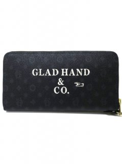 PORTER×GLAD HAND - BELONGINGS ZIP WALLET[FAMILY CREST SP]