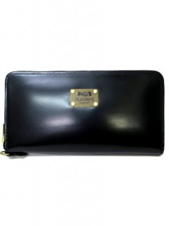 PORTER×GLAD HAND - BELONGINGS ZIP WALLET[BLACK]