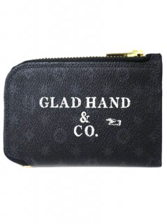 PORTER×GLAD HAND - BELONGINGS COIN CASE[FAMILY CREST SP]