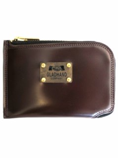 PORTER×GLAD HAND - BELONGINGS COIN CASE[BROWN]