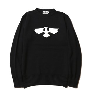<img class='new_mark_img1' src='//img.shop-pro.jp/img/new/icons14.gif' style='border:none;display:inline;margin:0px;padding:0px;width:auto;' />EAGLE COTTON KNIT SWEATER-18SS005