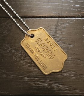 GH TAG-NECKLACE[THANK YOU LOVE]