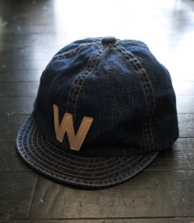 <img class='new_mark_img1' src='//img.shop-pro.jp/img/new/icons14.gif' style='border:none;display:inline;margin:0px;padding:0px;width:auto;' />W - DENIM CAP[VINTAGE FINISH]