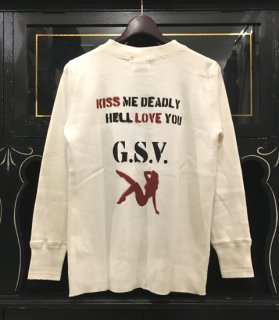 <img class='new_mark_img1' src='//img.shop-pro.jp/img/new/icons14.gif' style='border:none;display:inline;margin:0px;padding:0px;width:auto;' />HELL LOVE - L/S HENRY T-SHIRTS[VINTAGE FINISH]