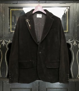 NOBLE JACKET[VELVET COW HIDE]