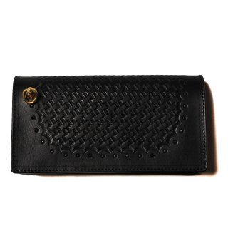 EMBOSSING LEATHER LONG WALLET - 18AW1012