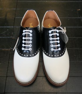 <img class='new_mark_img1' src='//img.shop-pro.jp/img/new/icons14.gif' style='border:none;display:inline;margin:0px;padding:0px;width:auto;' />[GLAD HAND×REGAL]SADDLE SHOES/WHITE×BLACK