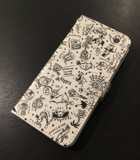 SCRIBBLE iPhone CASE[iPhone 8/IVORY]