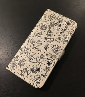 SCRIBBLE iPhone CASE[iPhone �.�S/DARK IVORY]