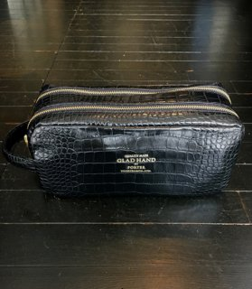 [GLAD HAND×PORTER]BAGGAGE DOUBLE ZIP BODY BAG