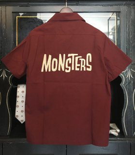 <img class='new_mark_img1' src='//img.shop-pro.jp/img/new/icons14.gif' style='border:none;display:inline;margin:0px;padding:0px;width:auto;' />MONSTERS - S/S SHIRTS