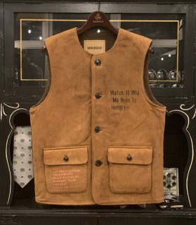 <img class='new_mark_img1' src='//img.shop-pro.jp/img/new/icons14.gif' style='border:none;display:inline;margin:0px;padding:0px;width:auto;' />WEIRDOLIGHT RANCH - VEST[HOG SKIN]