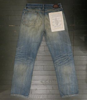 <img class='new_mark_img1' src='//img.shop-pro.jp/img/new/icons14.gif' style='border:none;display:inline;margin:0px;padding:0px;width:auto;' />OLD RODDER - DENIM PANTS[VINTAGE FINISH]