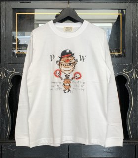 PW L/S T-SHIRTS [AIR BRUSH]