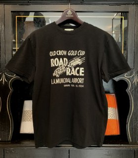 <img class='new_mark_img1' src='//img.shop-pro.jp/img/new/icons14.gif' style='border:none;display:inline;margin:0px;padding:0px;width:auto;' />GOLD CUP RACER - S/S T-SHIRTS