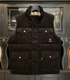 <img class='new_mark_img1' src='//img.shop-pro.jp/img/new/icons14.gif' style='border:none;display:inline;margin:0px;padding:0px;width:auto;' />NON SKID - CORDUROY DOWN VEST