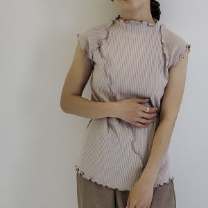 ribon rompers / ivory