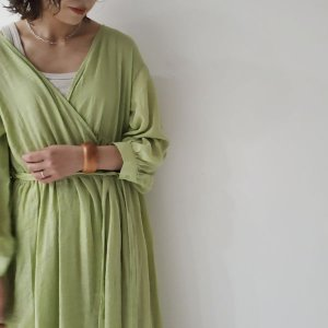 cachecoeur gown onepiece - green