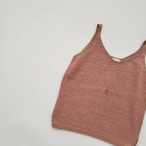 cocoon tanktops - brown