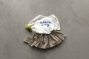 20%OFF candy t-shirts / white