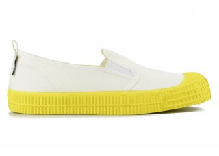 SLIP-ON COLOR SOLE 10WHITE / YELLOW