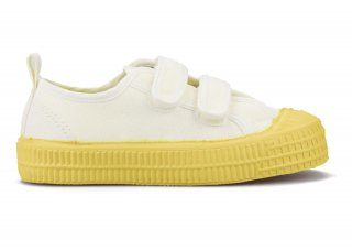 KIDS VERCLO COLOR SOLE 10WHITE/YELLOW<img class='new_mark_img2' src='https://img.shop-pro.jp/img/new/icons5.gif' style='border:none;display:inline;margin:0px;padding:0px;width:auto;' />