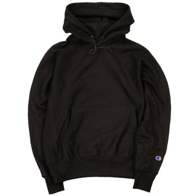 <img class='new_mark_img1' src='//img.shop-pro.jp/img/new/icons29.gif' style='border:none;display:inline;margin:0px;padding:0px;width:auto;' />CHAMPION USA [REVERSE SWEAVE 12oz. PULLOVER HOODIE] (BLACK)