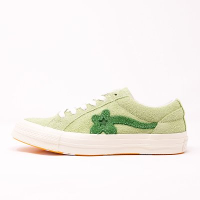 <img class='new_mark_img1' src='//img.shop-pro.jp/img/new/icons5.gif' style='border:none;display:inline;margin:0px;padding:0px;width:auto;' />Converse x Golf le Fleur [ONE STAR GLF OX 160327C] (JADE LIME/MINT GREEN/EGRET)