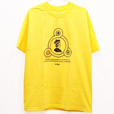 <img class='new_mark_img1' src='//img.shop-pro.jp/img/new/icons5.gif' style='border:none;display:inline;margin:0px;padding:0px;width:auto;' />BEDLAM QUEEN TEE (YELLOW)