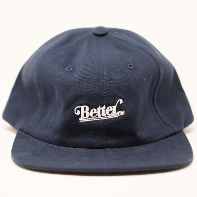 <img class='new_mark_img1' src='//img.shop-pro.jp/img/new/icons5.gif' style='border:none;display:inline;margin:0px;padding:0px;width:auto;' />BETTER™ [LOGO STRAPBACK HAT] (NAVY)