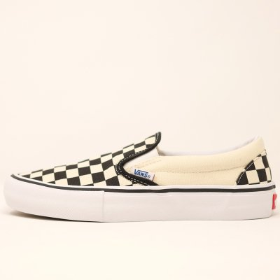 VANS [SLIP-ON PRO VN0A347VAPK ] (CHECKER BOARD)
