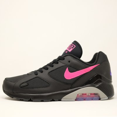 <img class='new_mark_img1' src='//img.shop-pro.jp/img/new/icons5.gif' style='border:none;display:inline;margin:0px;padding:0px;width:auto;' />NIKE [AIR MAX 180 AQ9974-001] BLACK/PINK BLAST-WOLF GREY
