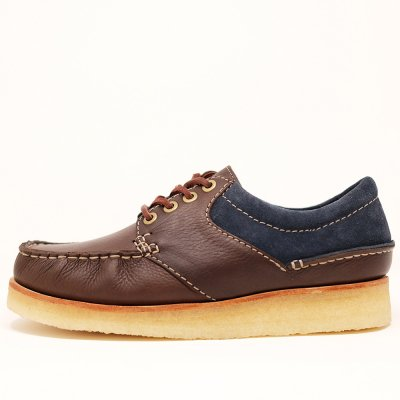 <img class='new_mark_img1' src='https://img.shop-pro.jp/img/new/icons5.gif' style='border:none;display:inline;margin:0px;padding:0px;width:auto;' />CLARKS ORIGINALS [WALLACE] BLUE COMBI