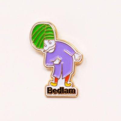 BEDLAM [CHAI-MAN ENAMEL PINS]