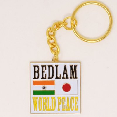 BEDLAM [WORLD PEACE KEY CHAIN]
