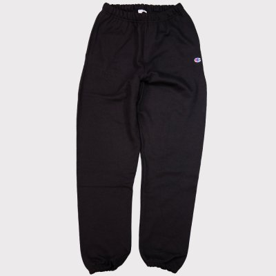 CHAMPION USA [REVERSE SWEAVE 12oz. SWEAT PANT] (BLACK)