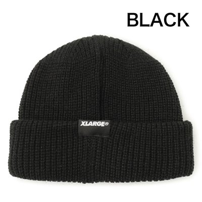XLARGE® [PATCHED SHORT LENGTH CUFF BEANIE ]