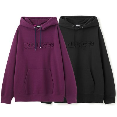 <img class='new_mark_img1' src='//img.shop-pro.jp/img/new/icons5.gif' style='border:none;display:inline;margin:0px;padding:0px;width:auto;' />XLARGE® [EMBOSSING STANDARD LOGO PULLOVER HOODED SWEAT]