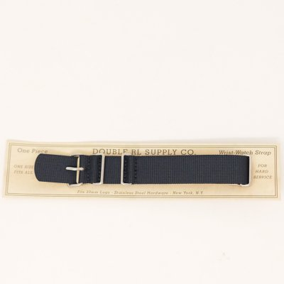 DOUBLE RL [WRIST-WATCH STRAP] (NAVY)