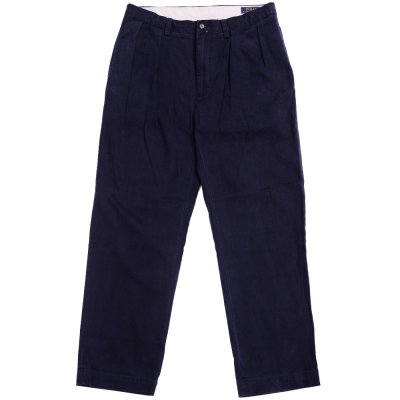 <img class='new_mark_img1' src='//img.shop-pro.jp/img/new/icons29.gif' style='border:none;display:inline;margin:0px;padding:0px;width:auto;' />VINTAGE POLO [2TUCK CHINO PANTS] (NAVY)