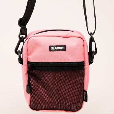XLARGE® [PATCHED SHOULDER BAG] (PINK)
