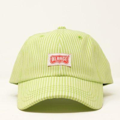 XLARGE® [WORK LOGO PATCHED 6PANEL CAP] (Lt GREEN)