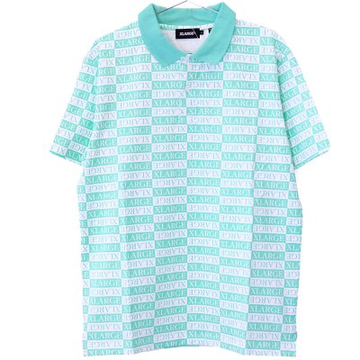 <img class='new_mark_img1' src='//img.shop-pro.jp/img/new/icons5.gif' style='border:none;display:inline;margin:0px;padding:0px;width:auto;' />XLARGE® [S/S ALLOVER PRINTED POLO SHIRT] (LtGREEN)